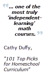Click here to see an update on Cathy Duffy's review.